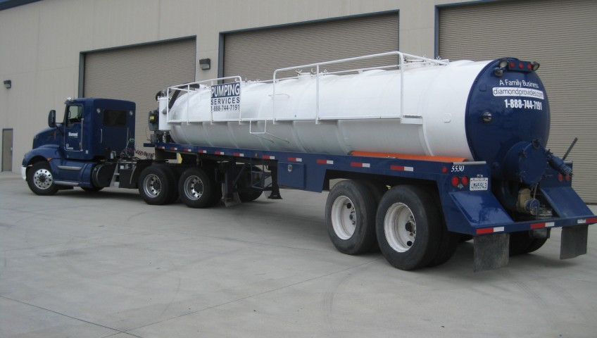 Septic pump truck large